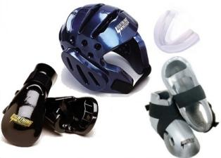 ProForce Lightning Lightning Sparring Gear Set